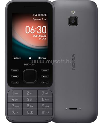 NOKIA 6300 4G DS, CHARCOAL