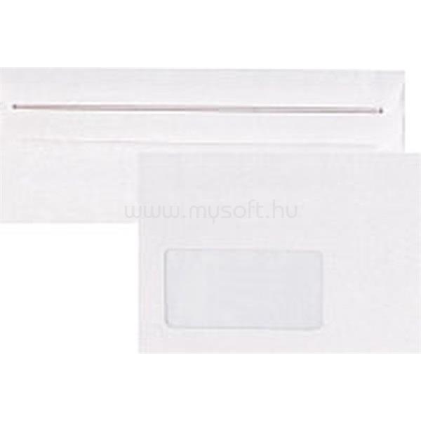 OFFICE DEPOT LA4 szilikonos bélésnyomott bal ablakos 25db boríték