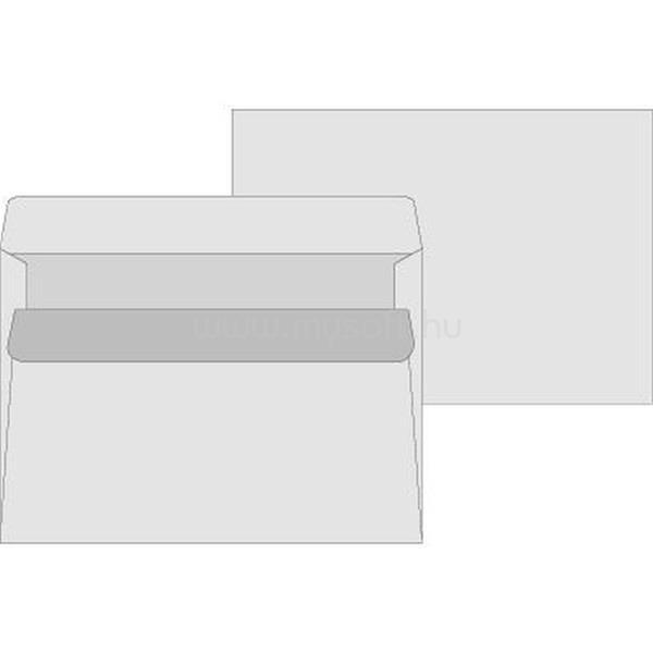 OFFICE DEPOT LC5 öntapadó bélésnyomott 25db boríték