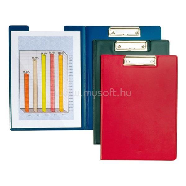 OFFICE DEPOT Plastweld A4 PVC fedeles piros felírótábla