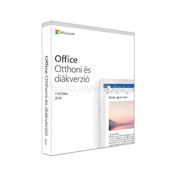 MICROSOFT Office Home and Student 2019 Hungarian