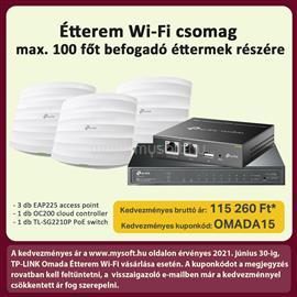 TP-LINK Omada Étterem Wi-Fi OMADA_ETTEREM small