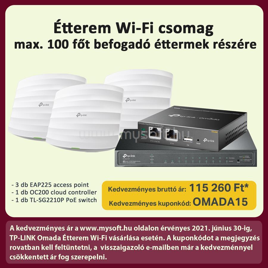 TP-LINK Omada Étterem Wi-Fi