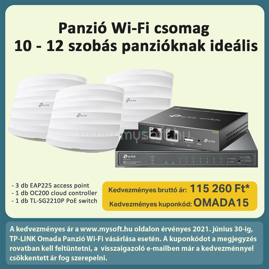 TP-LINK Omada Panzió Wi-Fi