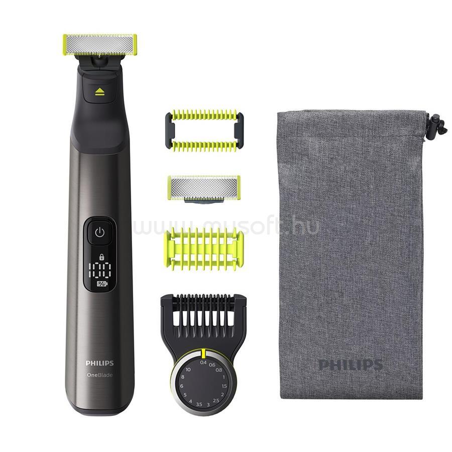 PHILIPS OneBlade Pro Face+Body QP6550/30 hibrid borotva