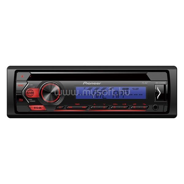 PIONEER DEH-S120UBB CD/USB autóhifi fejegység