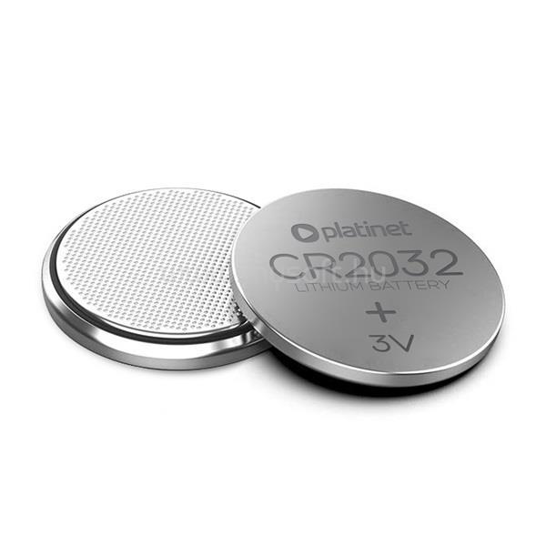 PLATINET gombelem, lithium, CR2032, 1db-os