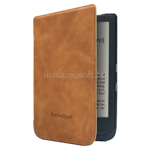 """POCKETBOOK e-book tok -  Shell 6"""" (Touch HD 3, Touch Lux 4, Basic Lux 2) Barna"""