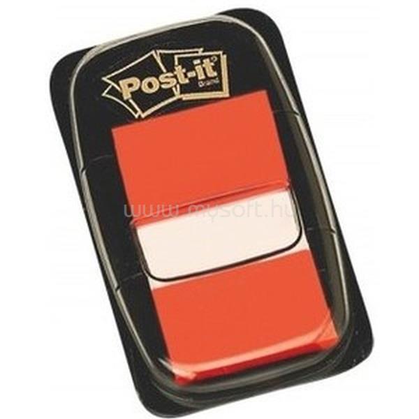 POST-IT 680-4 25x43mm öntapadós 50db narancssárga jelölőcímke