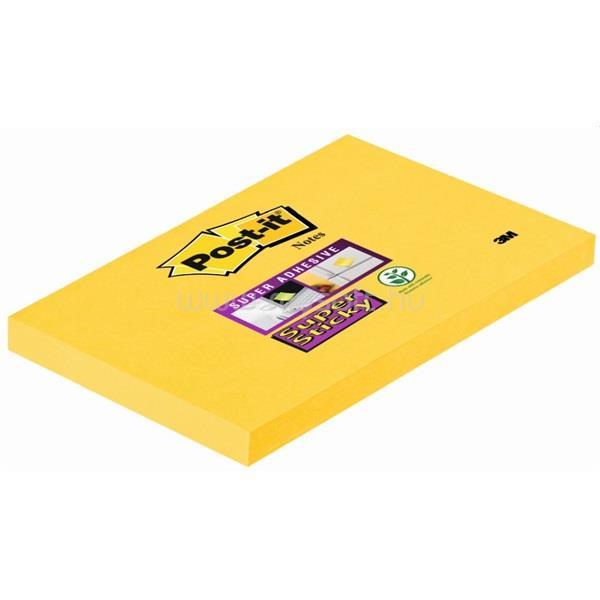 POST-IT Super Sticky 127x76 nárciszsárga jegyzettömb