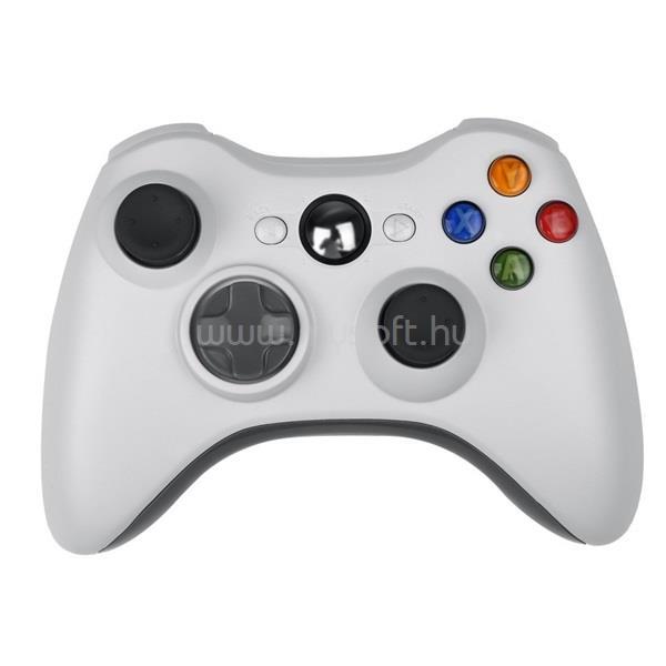 PRC vezeték nélküli Xbox 360 fehér kontroller PRCX360WLSSW large