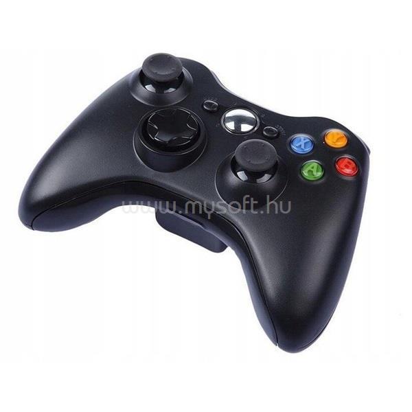 PRC vezeték nélküli Xbox 360 fekete kontroller PRCX360WLSSBK large