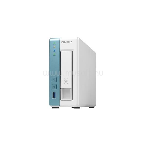 QNAP NAS 1 fiókos TS-131K 4x1.7 GHz, 1GB RAM, 1x100/1000, 3xUSB3.2