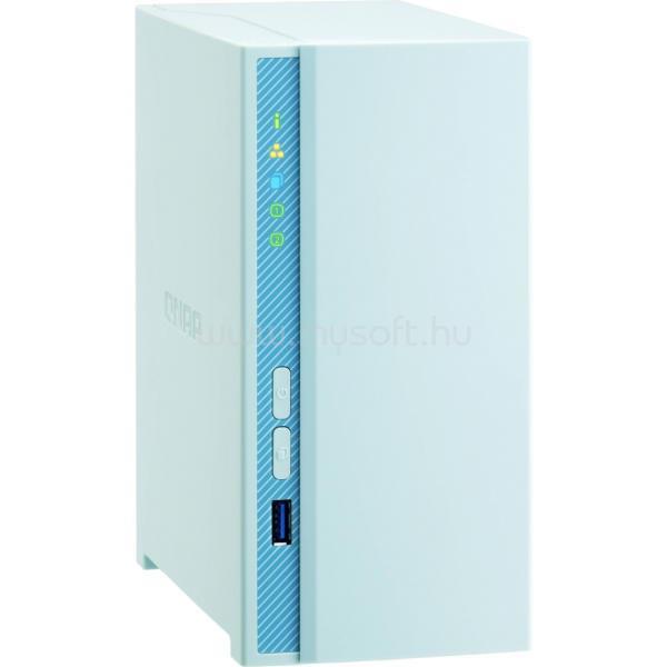 QNAP NAS 2 fiókos TS-230 4x1.4 GHz, 2GB RAM, 1x100/1000, 2xUSB3.2, 1xUSB2.0