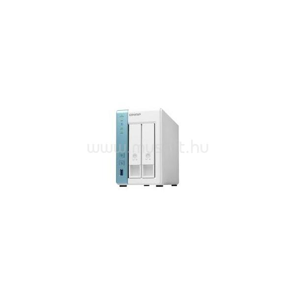 QNAP NAS 2 fiókos TS-231K 4x1.7 GHz, 1GB RAM, 2x100/1000, 3xUSB3.2