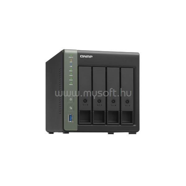 QNAP NAS 4 fiókos TS-431X3-4G quad-core 1.7GHz, 4GB RAM, 1xGbE, 1x2,5GbE,1 x 10GbE SFP+,3xUSB3.2