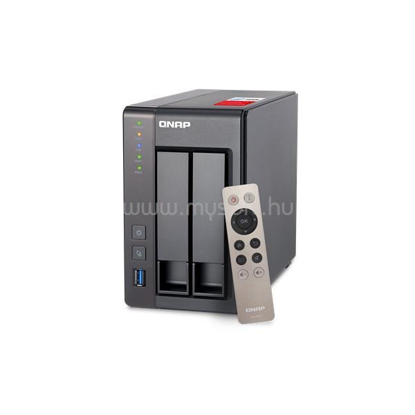 QNAP TS-251+-2G 2x SSD/HDD NAS
