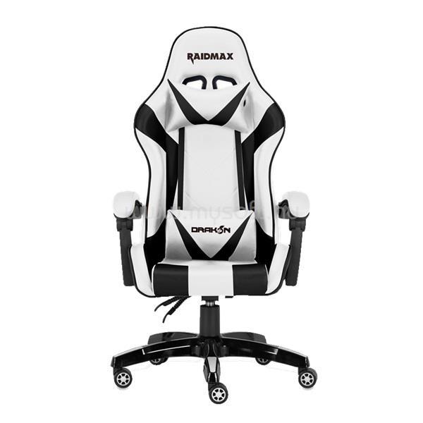 RAIDMAX Drakon DK602 fehér gamer szék