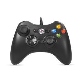 RAMPAGE Gamepad - SG-R360 Black (USB, 2,2m kábel, PC és Xbox360 kompatibilis, fekete) RAMPAGE_22374 small