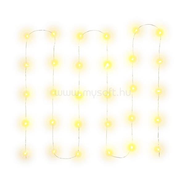 RETLUX RXL 259 nano 30 LED/AA meleg fehér karácsonyi fényfüggöny