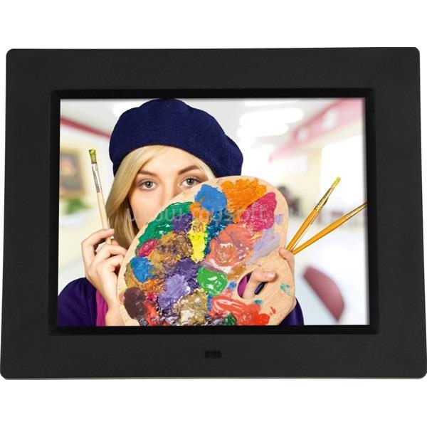 "ROLLEI Degas DPF-860 8"" fekete digitális képkeret"