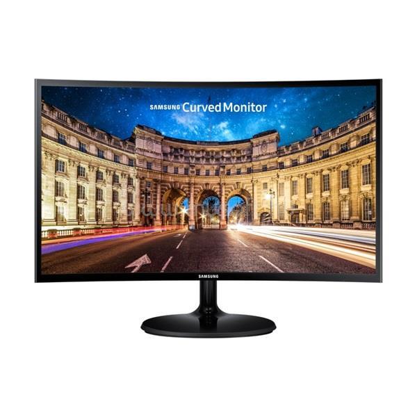 SAMSUNG C24F390FH Ívelt Monitor AMD FreeSync technológiával