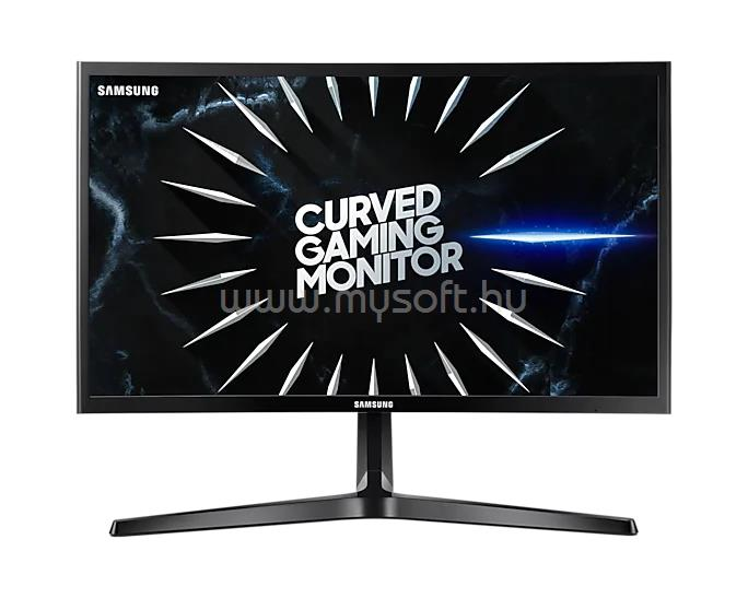 SAMSUNG C24RG50FQ Ívelt Gaming Monitor