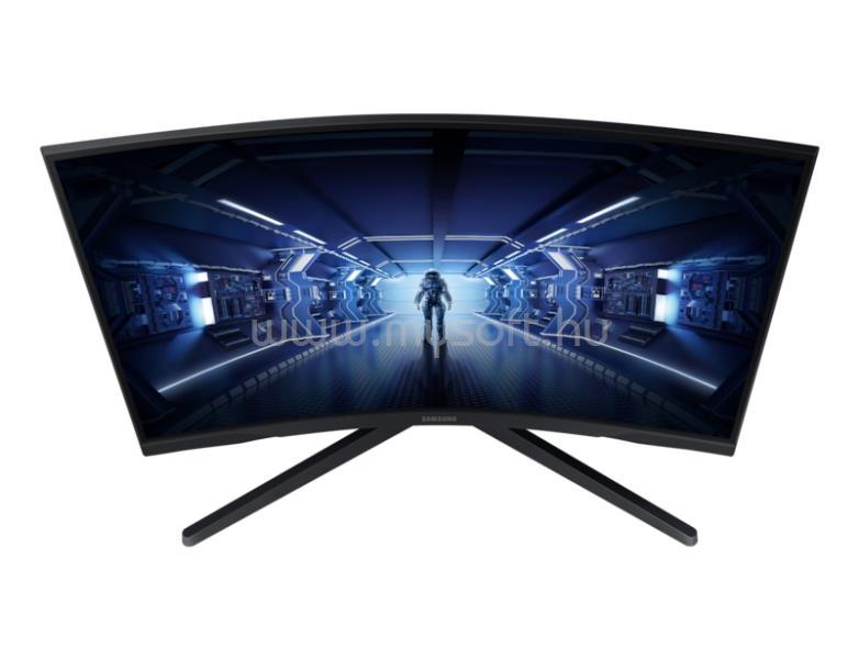 SAMSUNG C27G55TQW Ívelt Gaming Monitor