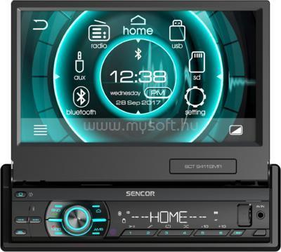 "SENCOR LCD-s Bluetooth/CD/SD/USB/MP3 autóhifi fejegység (7"")"