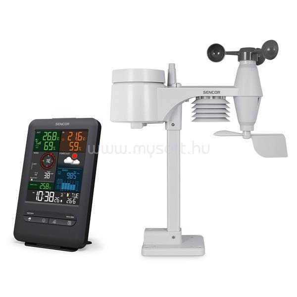 SENCOR SWS 9300 meteorológiai állomás