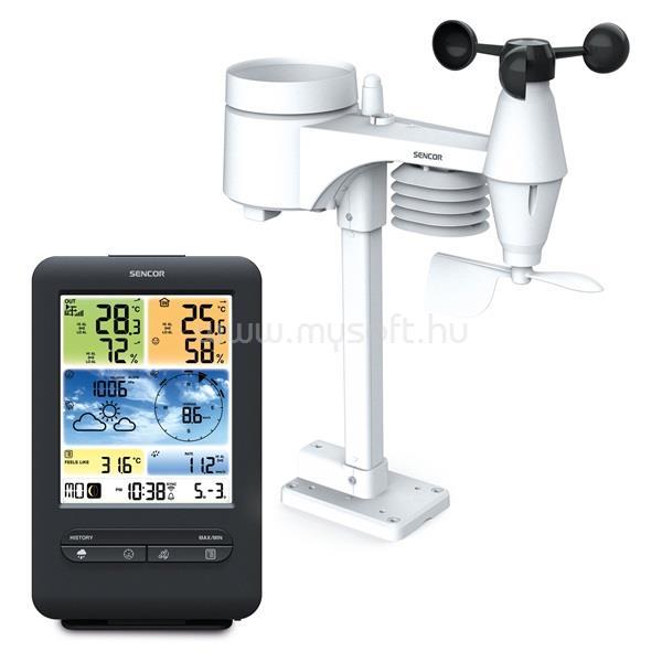 SENCOR SWS 9898 WiFi professzionális meteorológiai állomás