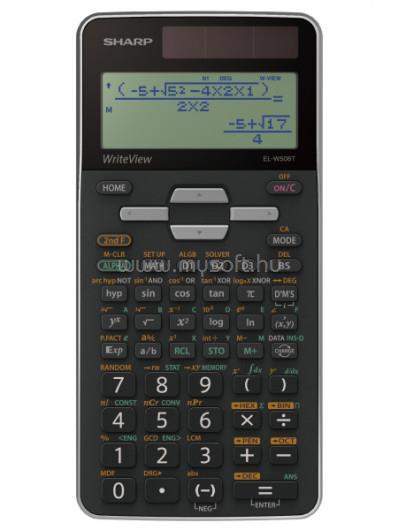 SHARP ELW506TBSL számológép Tudományos