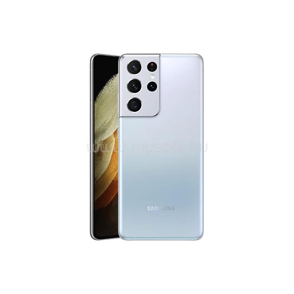 SAMSUNG Okostelefon Galaxy S21 Ultra 5G 128GB, Fantomezüst