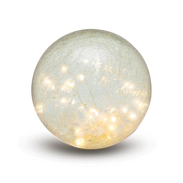 SOMOGYI GLG 15 micro-LED világítással/üveggömb asztali dísz