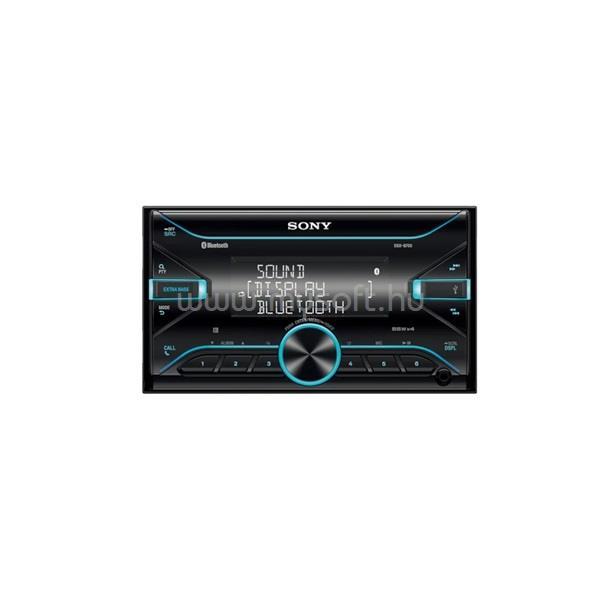SONY DSXB700 Bluetooth/USB/MP3/FLAC 4x55W 2DIN autóhifi fejegység