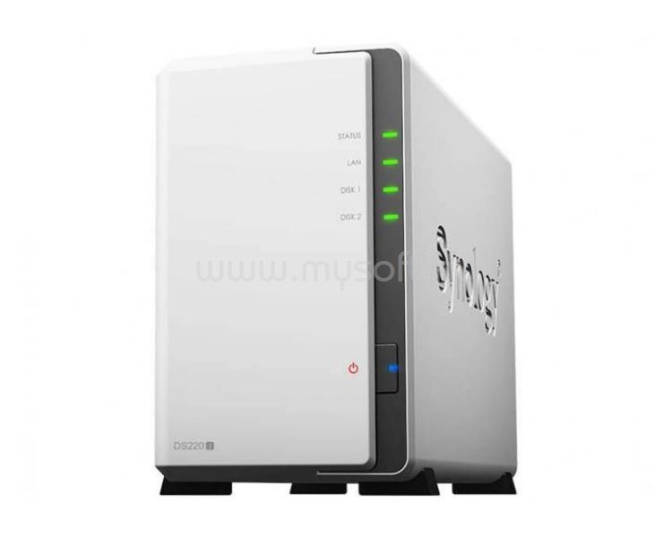 SYNOLOGY DiskStation DS220j NAS (2HDD)