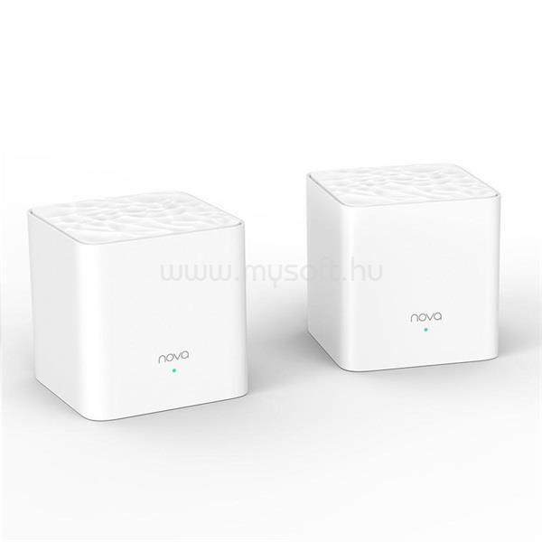 TENDA MW3 AC1200 Whole-home Mesh 300Mbit moduláris vezeték nélküli rendszer (2db-os)
