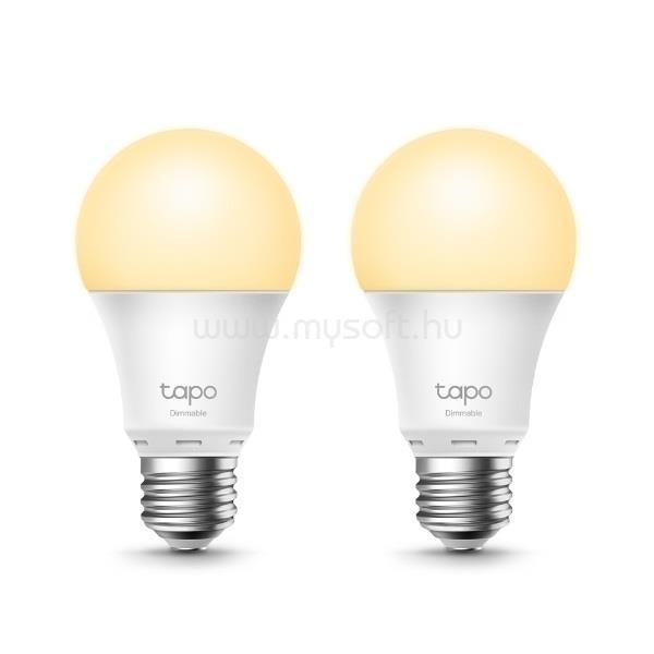 TP-LINK LED Izzó Wi-Fi-s E27, tompítható fénnyel, TAPO L510E(2-PACK)