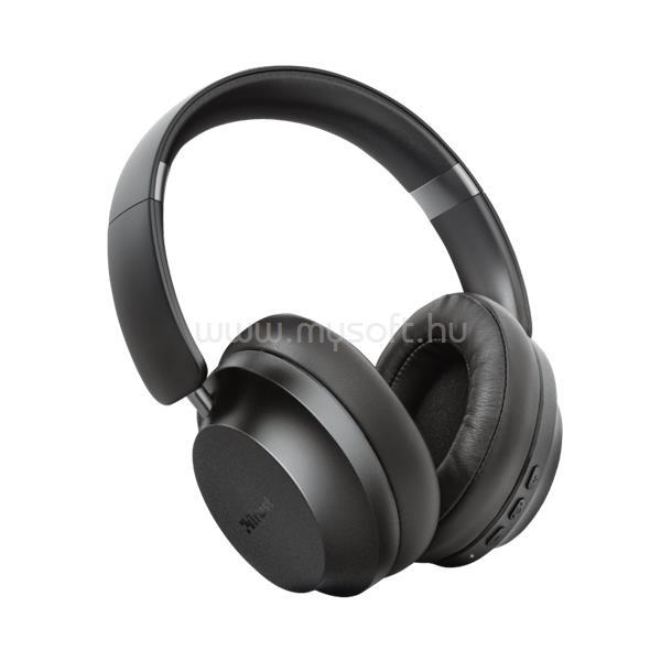TRUST Bluetooth Fejhallgató EAZE-fekete