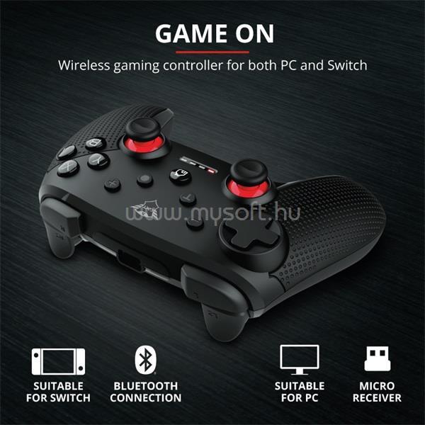 TRUST GXT 1230 Muta wless PC & Nintendo Switch gamer gamepad