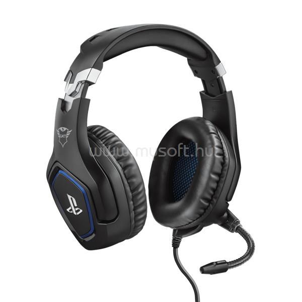 TRUST GXT 488 FORZE PS4 HEADSET-fekete