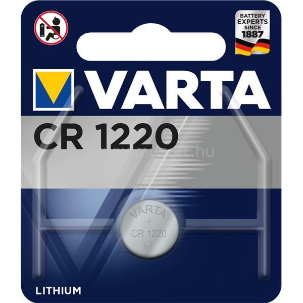 VARTA CR1220  lítium gombelem 1db/bliszter