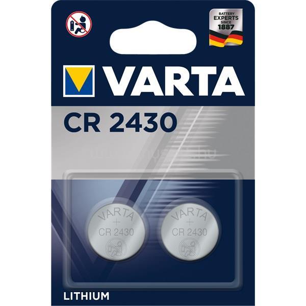 VARTA CR2430 lítium gombelem 2db/bliszter