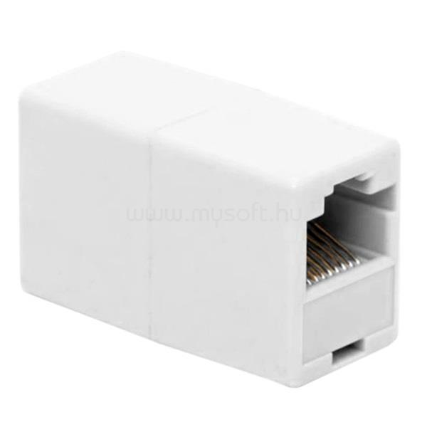 VEZ UTP toldó - 05266 (8P8C, Cat5, műanyag, fehér)