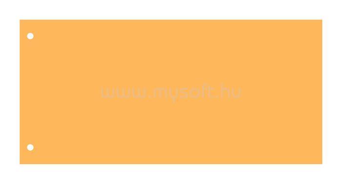 VICTORIA Elválasztócsík, karton, citromsárga