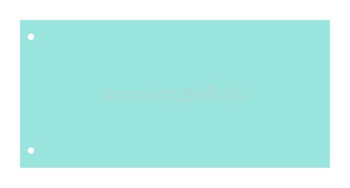 VICTORIA Elválasztócsík, karton, kék
