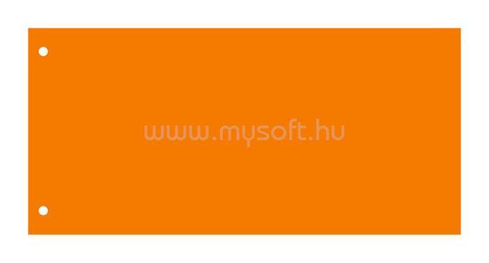 VICTORIA Elválasztócsík, karton, narancssárga (50db/csomag)