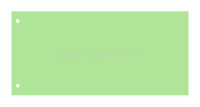 VICTORIA Elválasztócsík, karton, zöld