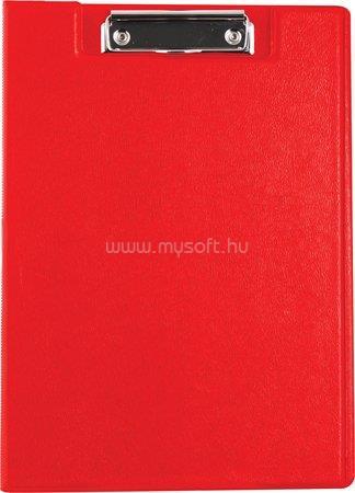 VICTORIA Felírótábla, fedeles, A4, zsebes, piros
