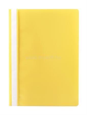 VICTORIA Gyorsfűző, PP, A4, citromsárga